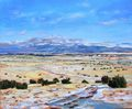 Sangre De Cristo and Old Santa Fe trail by Alain Lutz