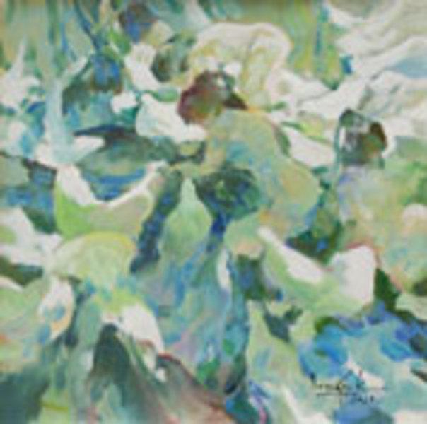 Maidens and Birds by U Lun Gywe