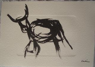 Bull 2 by Mónica Cuén