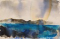 Approaching Rain Waternish Isle of Skye by Chris Hankey