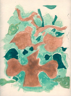 La Foret by Georges Braque