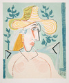 Femme à la Collerette by Picasso Estate Collection