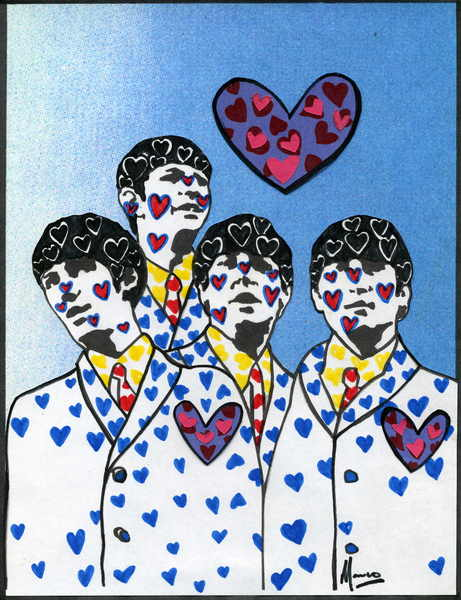 The Beatles moments series 11- Blue Love by Marco Mark