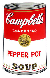 Campbell's Soup - Pepper Pot by Andy Warhol