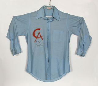 Painted Workshirt by Alexander Calder