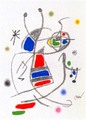 Maravillas con Variaciones Acrosticas en el jardin de Miro (Number 10) by Joan Miró
