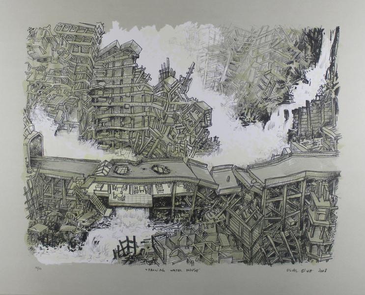 Falling Water House by Oscar Oiwa