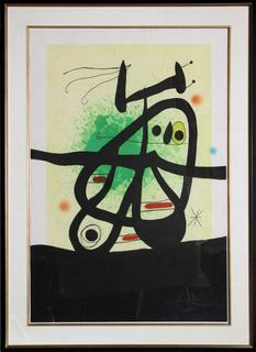 L'Oiseau Mongol by Joan Miró