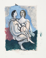 Le Couple by Picasso Estate Collection
