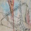 Electric Tower by Brigitte Bidard