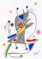 Maravillas con Variaciones Acrosticas en el jardin de Miro (Number 4) by Joan Miró