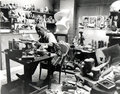 Henry Moore in his studio by Henry Moore