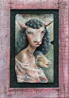 Portrait of a Lady by Mariela Dimitrova MARA