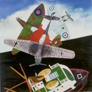 Battle Of Britain by Malcom Morley