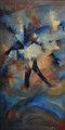 Occupation, oil on canvas, signed by Lidia Solanot