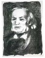 Portrait of Richard Wagner by Pierre Auguste Renoir