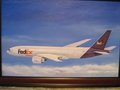 Federal Express 007 Airplane by Carl Scott
