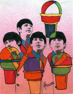 The Beatles moments series 7 - Ice cream by Marco Mark