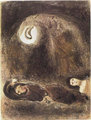 Ruth aux Pieds de Boaz by Marc Chagall