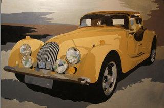 coche de epoca by jesus martinez vazquez