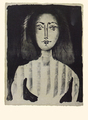 Young Woman in a Striped Blouse by Pablo Picasso