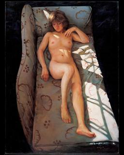 Nude On A Sofa 85