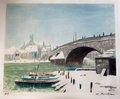 Le Pont de Villleneuve-sur-Yonne by Francis Picabia