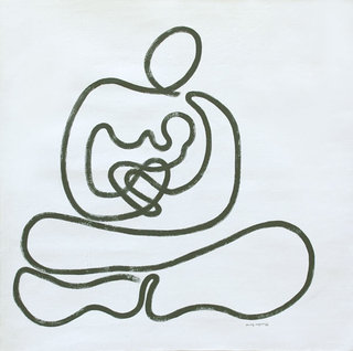 Mother and Child (4) by Aung Myint