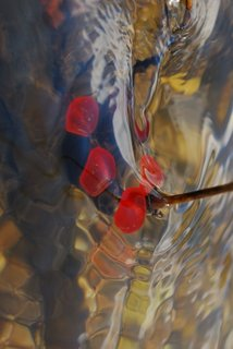 Vertical brushstroke by Brandan