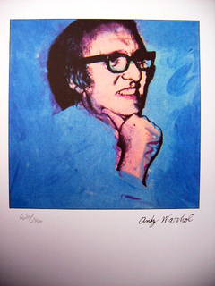 Retrato de Sidney Lewis by Andy Warhol