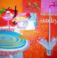 Saturgay and sunday by María Burgaz