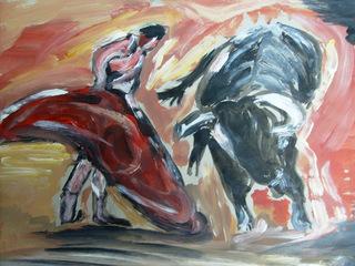 FIGHTING V by CARMEN PEÑA
