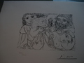 Picasso Limited Edition Lithograph by Pablo Picasso