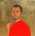 Gentle Monk by Susan-Jayne Hocking
