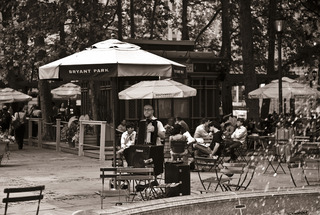 bryant park, NYC by Chao Xia