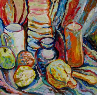 Yellow fruits by Inga Erina