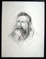 Portrait of Auguste Rodin by Pierre Auguste Renoir