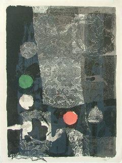 Trois cercles by Antoni Clavé