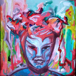 Fire goddess by Raquel Sara Sarangello