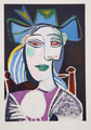 Buste de Femme au Chapeau Bleu by Picasso Estate Collection
