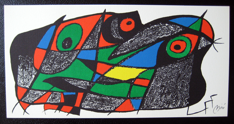 Miro Sculptor - Sweden Original Art by Joan Miró :: PicassoMio