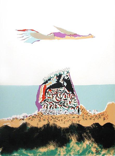 Glider by Benny Andrews