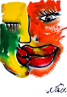 THE KISS 18 by Jorge Berlato