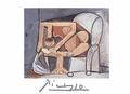 Femme a la Toilette by Pablo Picasso