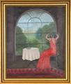 Untitled - Woman Looking Out Window by Branko Bahunek