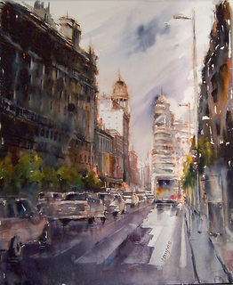 Gran Via (Madrid) by Juan Félix Campos