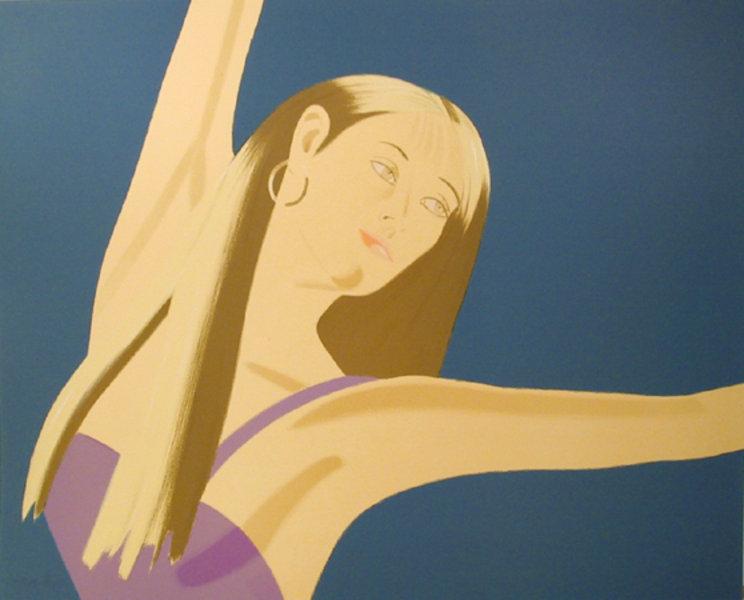 Night William Dunas Dance 2 Original Art By Alex Katz