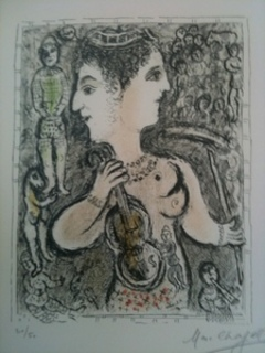 Double Vision by Marc Chagall
