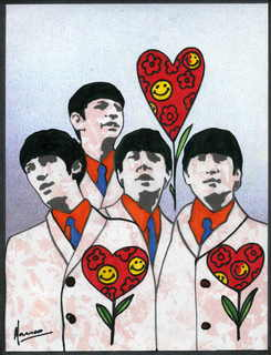 The Beatles moments series 1- Playful Love by Marco Mark