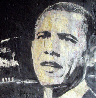 """Obama in Art by Ana Posada"